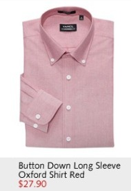 Button Down Long Sleeve Oxford Shirt