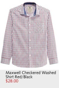 Maxwell Checkered Washed Shirt
