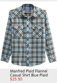 Manfred Plaid Flannel Casual Shirt